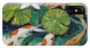 Pond Swimmers Koi IPhone Case