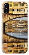 Ponte Vecchio Crossing The River A IPhone Case