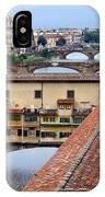 Ponte Vecchio From Uffizi                IPhone Case