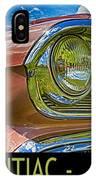 Pontiac 3 IPhone Case