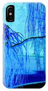 Pony Tail Blue IPhone Case