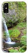 Ponytail Falls, Oregon IPhone Case