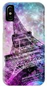 Pop Art Eiffel Tower IPhone Case