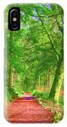 Pop Art Path IPhone Case
