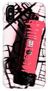 Pop Art Pillar Post Box IPhone X Case