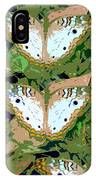 Pop Butterfly's Work Number Three IPhone Case