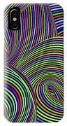 Pop Swirls IPhone Case
