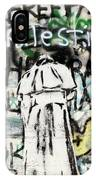 Pope Free Palestine IPhone Case