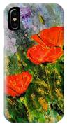Poppies 107 IPhone Case