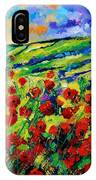 Poppies 78 IPhone Case