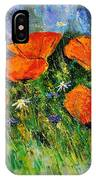 Poppies 79 IPhone Case