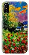 Poppies And Daisies 560110 IPhone Case
