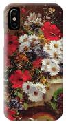 Poppies And Daisies  IPhone Case