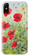 Poppies And Mayweed IPhone X Case