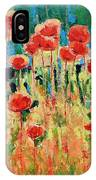 Poppies And Traverses 2 IPhone Case