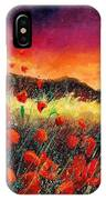 Poppies At Sunset 67 IPhone Case