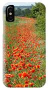 Poppies Awash IPhone Case
