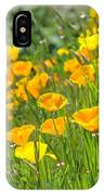 Poppies Hillside Meadow Landscape 19 Poppy Flowers Art Prints Baslee Troutman IPhone Case