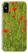 Poppies In A Wheat Field IPhone Case