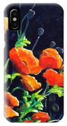 Poppies In The Light IPhone Case