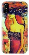 Poppies Lady IPhone Case