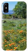 Poppies With A View At Oak Glen IPhone Case
