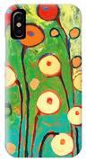 Poppy Celebration IPhone Case by Jennifer Lommers