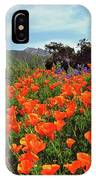 Poppy Explosion IPhone Case