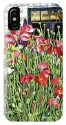 Poppy Fence IPhone Case