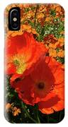 Poppy Glories IPhone Case