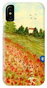 Poppy Hill IPhone Case