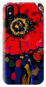 Poppy Passion IPhone Case