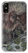 Porcupine In Aspen IPhone Case