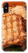 Pork Chop. IPhone Case
