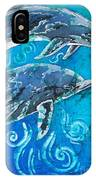 Porpoise Pair - Close Up IPhone Case