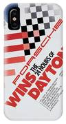 Porsche 24 Hours Of Daytona Wins IPhone Case