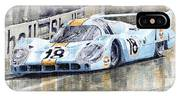 Porsche 917 Lh 24 Le Mans 1971 Rodriguez Oliver IPhone Case