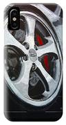 Porsche Techart Wheel IPhone Case