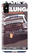 Porsche Vallelunga Vintage Racing Poster IPhone Case