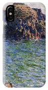 Port Goulphar Belle Ile Brittany IPhone Case