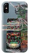 Port Of Oakland Aerial Photo IPhone Case