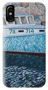 Portland Lobster Boat IPhone Case