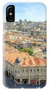Porto Historic Center Aerial IPhone Case