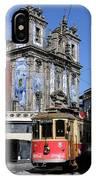 Porto Trolley 1 IPhone Case