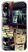 Portobello Road London Junk Shop IPhone Case