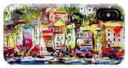 Portofino Italian Riviera IPhone X Case