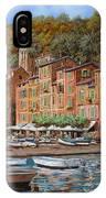 Portofino-la Piazzetta E Le Barche IPhone Case