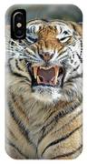 Portrait Of A Growling Tiger  IPhone Case