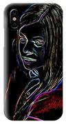 Portrait Of A Woman IPhone Case