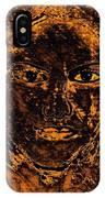 Portrait Of An Ancient Woman IPhone Case